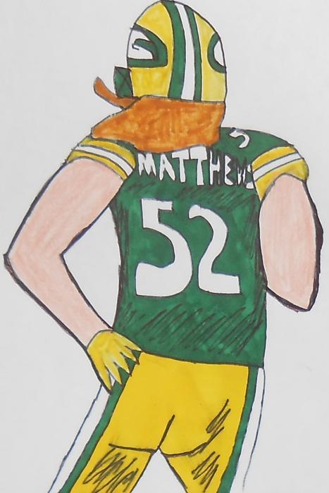 Clay Matthews III por armattock